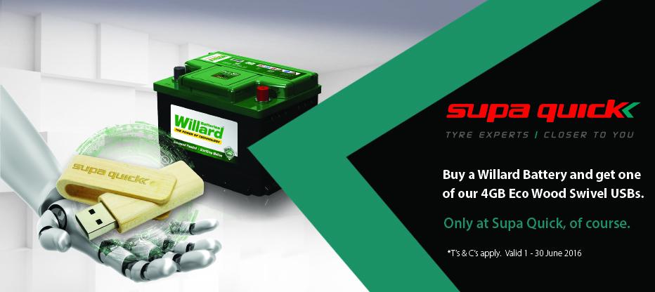 Battery Promotion
