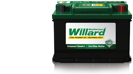 Willard car battery fitment