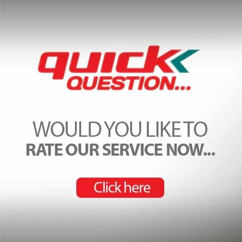 Rate us on our sevice. Click here to take our customer survey
