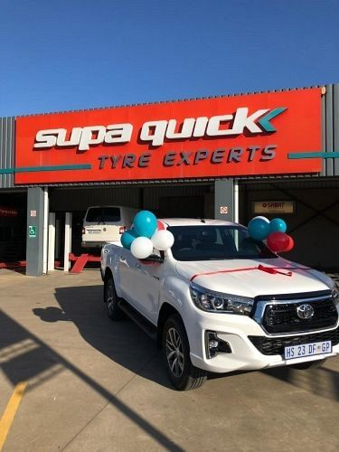 Choose Your Car Winners brand new Toyota Hilux