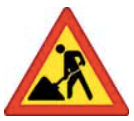 Construction Work Up Ahead