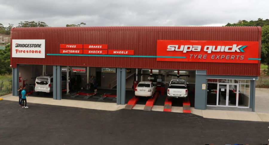 Supa Quick fitment centre, Abbotsford