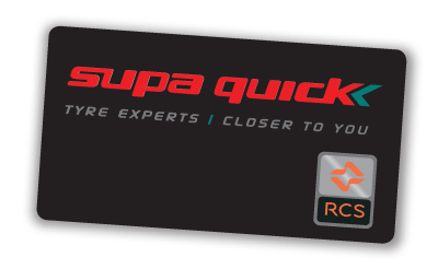 Supa Quick Credit Card