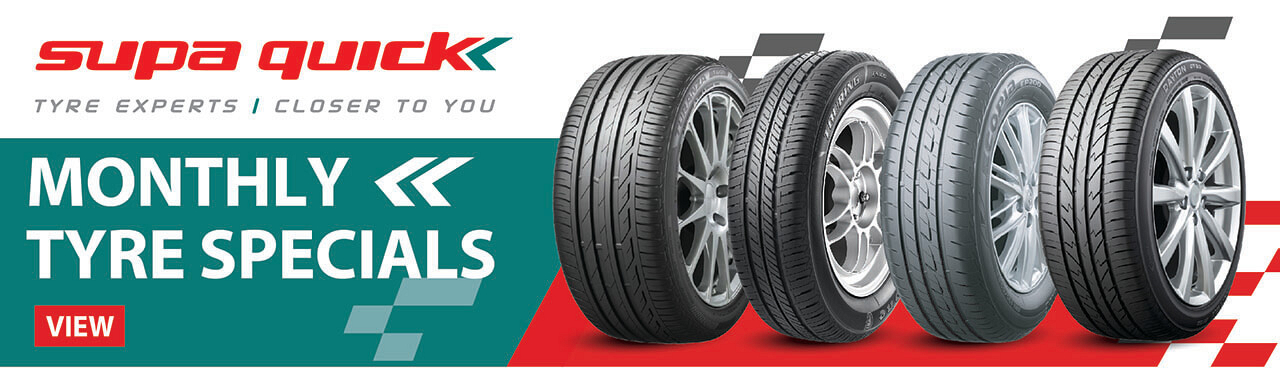 Tyre specials at Supa Quick