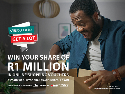SCRATCH & WIN R1 Million in PRIZES