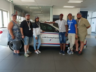 Winners of the Supa Quick BMW Advanced Driving Experience Competition