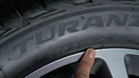 What is my tyre speed rating and size?